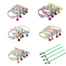 Light Necklace Neck-Ring-Accessories Bells-Glow Cats Luminous