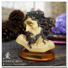[Христианский подарок: голова Иисуса] религиозные украшения отца сына, Святого духов церкви, украшения дружбы