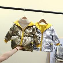 Manboy 2020 детское пуховое пальто Детская Верхняя одежда куртка