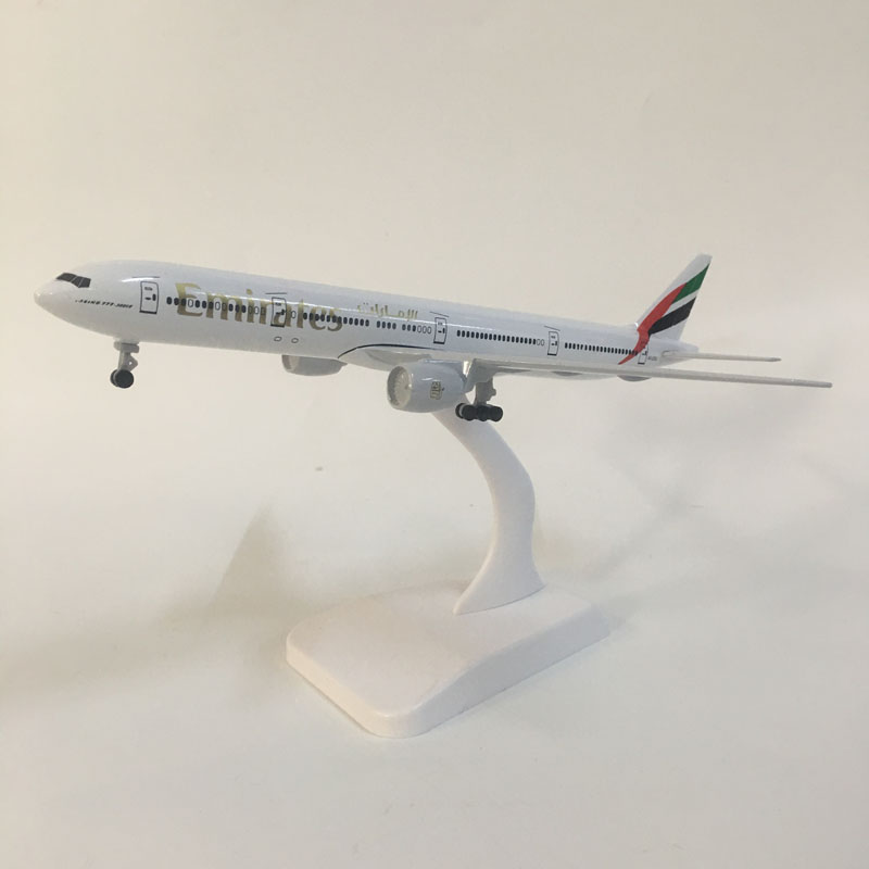 JASON TUTU 20cm Emirates Boeing 787 Plane Model Airplane Model Aircraft Model 1:300 Diecast Metal Planes Toys Gift Collect