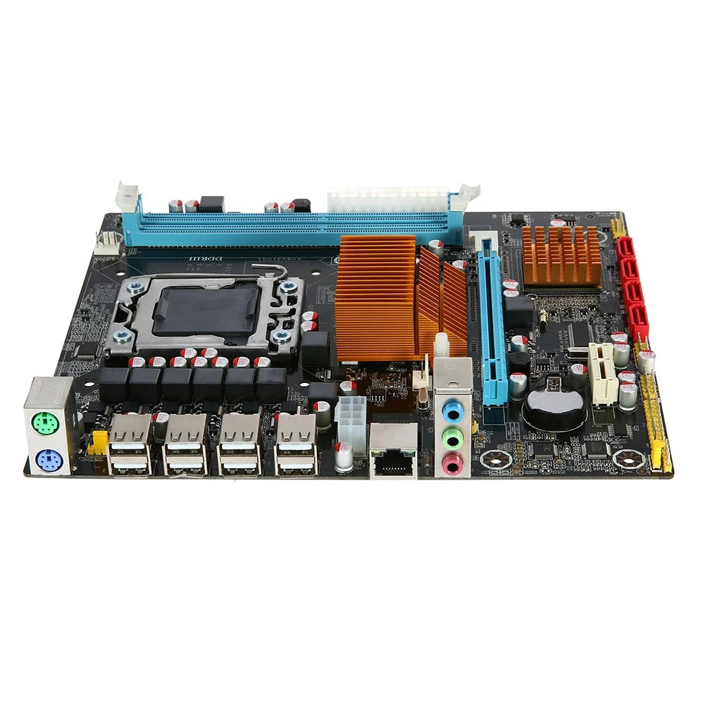 <font><b>X58</b></font>-1366 Professional DDR3 CPU Accessories Home Single Desktop ECC Memory <font><b>Motherboard</b></font> Set Teaching Replacement <font><b>Dual</b></font> Channel image