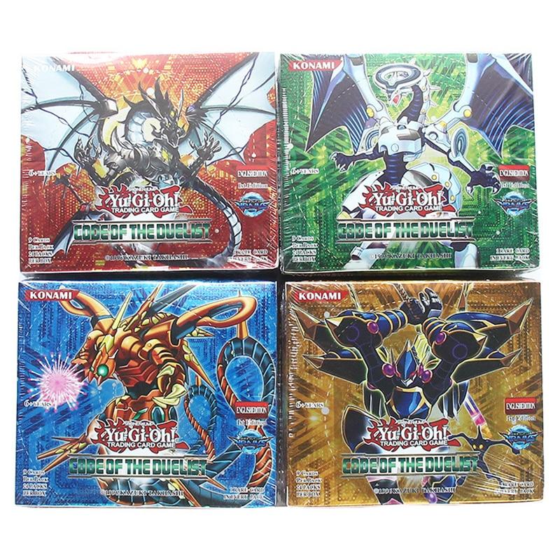 216pcs/set Yu Gi Oh Game Cards Anime Style Japan Cartoon Yugioh Collection Card Box Kids Boys Toys For Children Figure Cartas