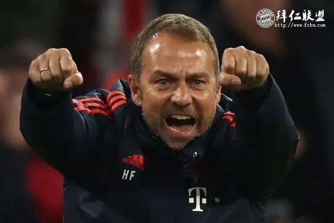 官宣:临时教练弗里克转正成为拜仁正式主教练7