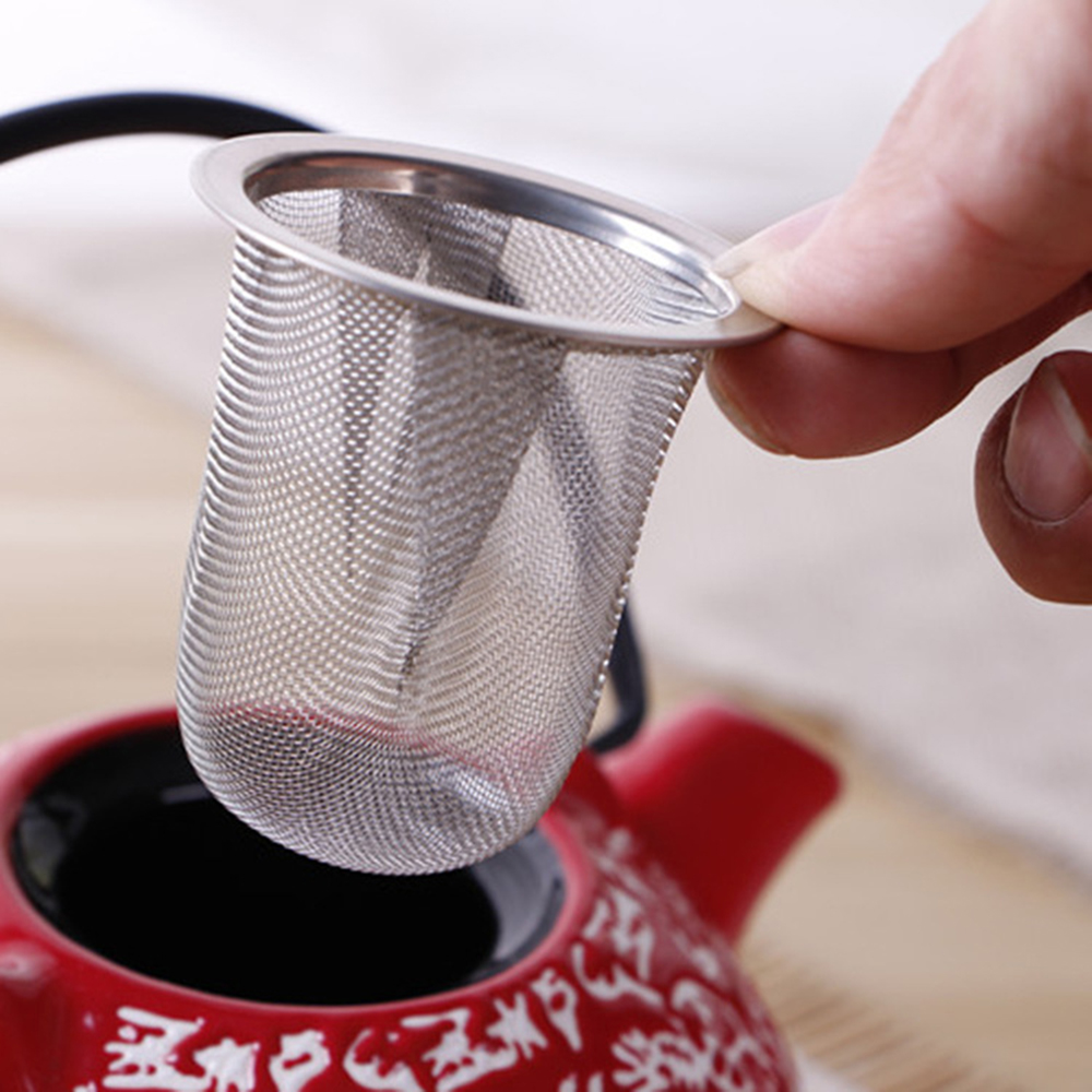 Original Reusable Stainless Steel Mesh Tea Infuser Tea Strainer Teapot Kitchen Accessories Tea Leaf Spice Filter