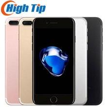 Original desbloqueado iphone apple 7 plus 5.5 12.12.12.0mp impressão digital lte 3g ram 32g/128g/256g rom celular celular núcleo phonequad