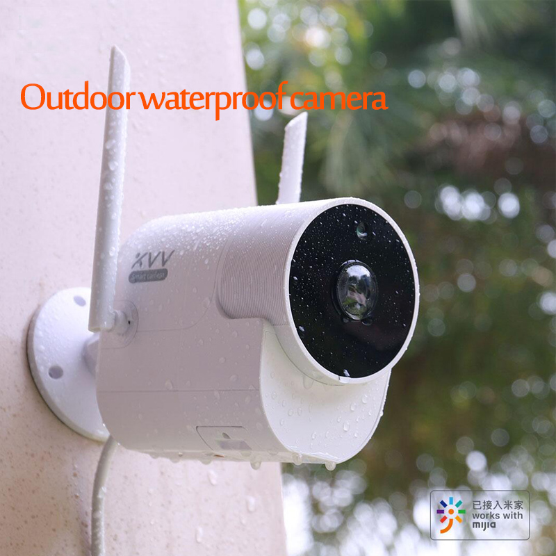 Xiaomi Outdoor Panoramic Waterproof Camera 150° Wide Angle 1080P  Wireless WIFI Night Vision For MiHome Surveillance Cam