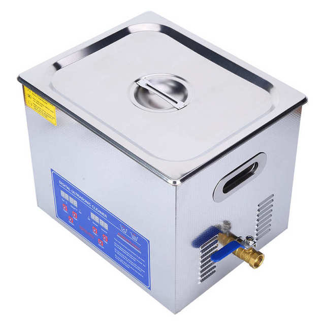 1.3L/2L/3L/6L/10L Digital Ultrasonic Cleaner High Frequency Sound Waves to Clean Heater Timer Microprocessor-controlled Device