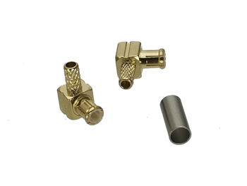 цена на MCX male plug right angle crimp RG174 RG316 LMR100 Cable RF Coaxial connector RA