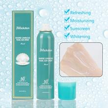 JMsolution Marine pearl sunscreen spray Refreshing lasting Glow Luminous Sun Spray SPF50+/PA++++ 180ml  for oily/mixed skin