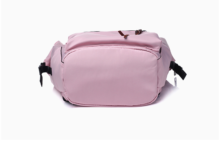 H31a5b35ac7484a61911dc584a3dd26409 Casual Nylon Waterproof Backpack Women High Capacity Travel Book Bags for Teenage Girls Students Pink Satchel Mochila Bolsa 2019