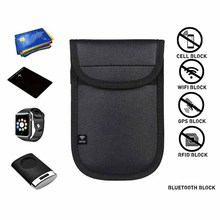 Auto Car Key Anti-Theft RFID Signal Blocker Pouch Case Keyless Blocking Bag