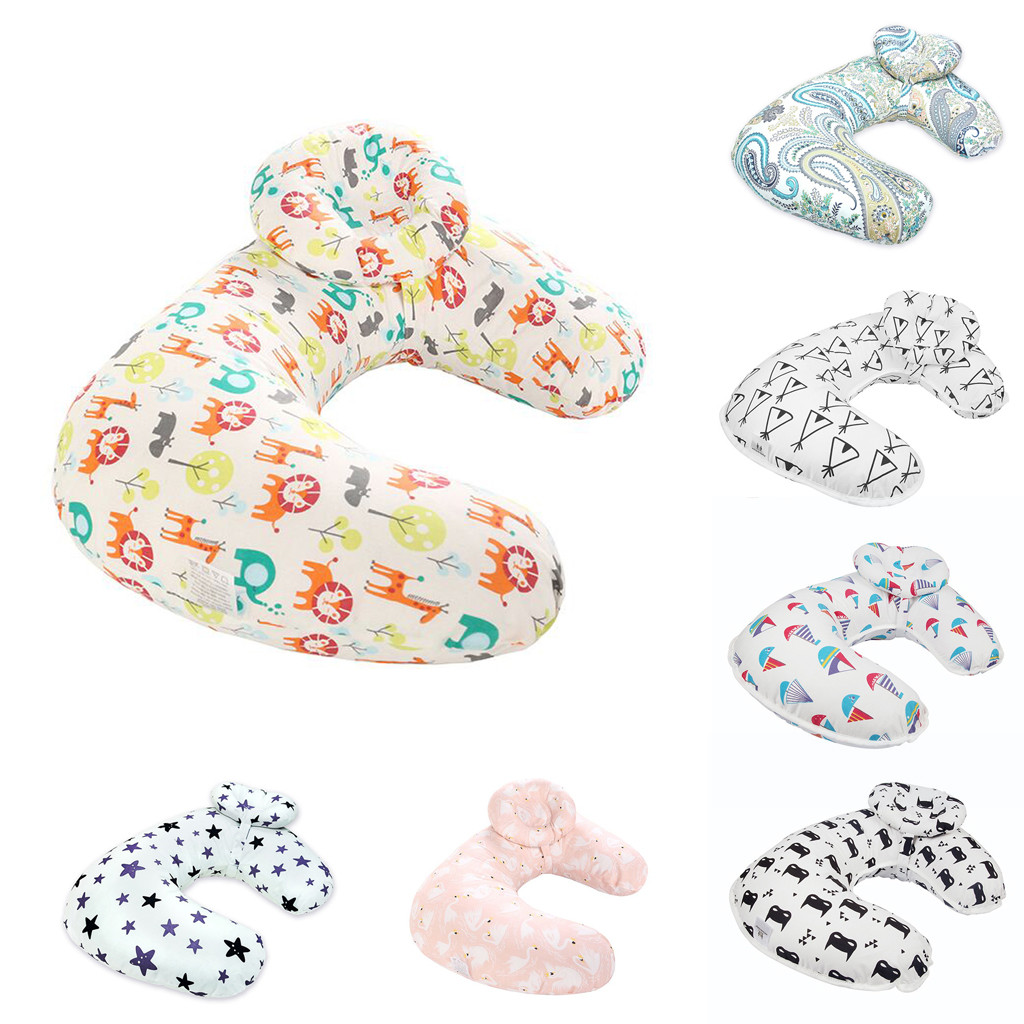 Head Protection Cushion Pillow Nursing Newborn Baby Breastfeeding Pillow Cover Nursing Pillow Cover Slipcover B