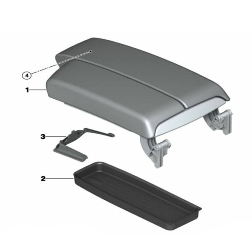 For BMW 3 Series E90 / 91/92/93 Storage Box Tray Accessories 51167118064