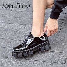 Sophitina/Женская обувь на толстой плоской подошве; Высококачественная