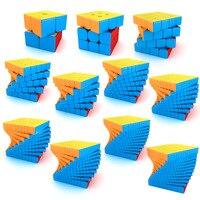 MOYU Meilong 2 × 2 3 × 3 4 × 4 5*5*5 6 × 6 7 × 7 8 × 8 9 × 9 10 × 10 11 × 11 12 × 12 Megaminx マジックキューブスピードパズルキューブおもちゃギフト cubo-mf-マジコ