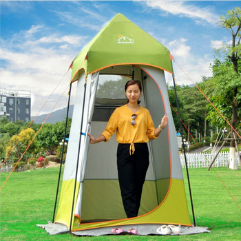 ZHUOAO Automatic Super Strong Large Space Shower Beach Mobile Toilet Tent Bath Portable Dressing Tent