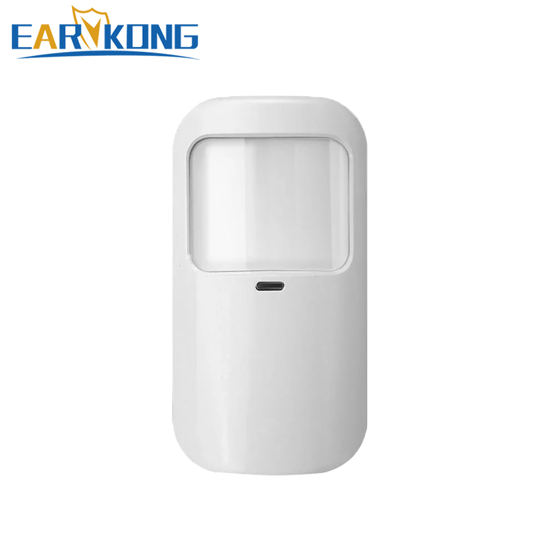 433MHz Wireless Passive Infrared Detector PIR Sensor 12kg PET Immune 1527 Code For Our Wifi / GSM / PSTN Home Security Alarm