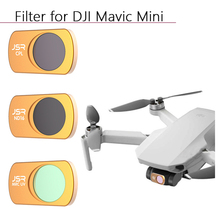DJI MAVIC MINI filtre MCUV CPL ND64 8 16 32 nötr yoğunluk Lens filtreler koruma Lens kep lambası filtre Drone aksesuarları