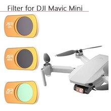 Dla DJI MAVIC MINI filtr MCUV CPL ND64 8 16 32 neutralna gęstość filtry soczewek soczewka ochronna czołówka filtr akcesoria do dronów