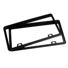 durable transparent license plate cover frame for usa plastic license tag cover holder vehicle car styling modified 31cmx16cm License Plate Shield Cover and Frame Truck Car Smoked Tag Stainless Steel Tinted X7JF