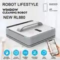 RL880 Автоматический робот для очистки окон, интеллектуальная шайба, пульт дистанционного управления, алгоритм защиты от падения, стеклянный ...