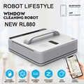 Rl880 automático janela robô de limpeza, lavadora inteligente, controle remoto, anti queda ups algoritmo vidro aspirador ferramenta win660