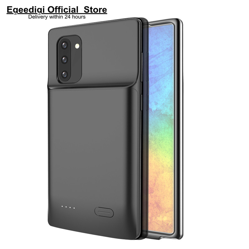 Egeedigi Backup battery Charging Case For Samsung Galaxy Note 8 9 10 Pro s8 S9 S10 Plus S10e Extenal PowerBank Charge Cover