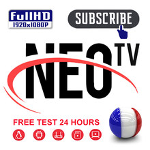 Neo tv pro kod subskrypcja iptv arabski neo tv pro abonnement iptv neo tv pro dla smart tv linux tv box z androidem 1 rok(China)
