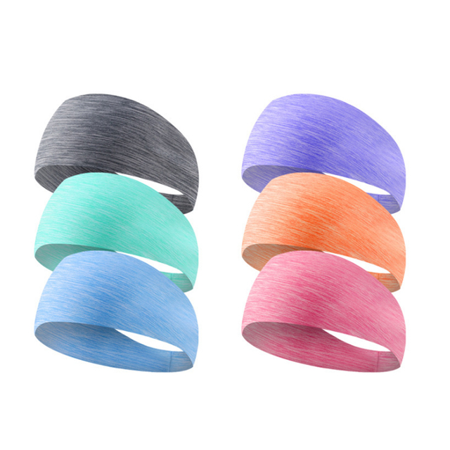 yoga hair bands Sports Hair with Lycra Breath Conducting Sweat Belt Running Fitness Yoga Dance Sweat Band 1