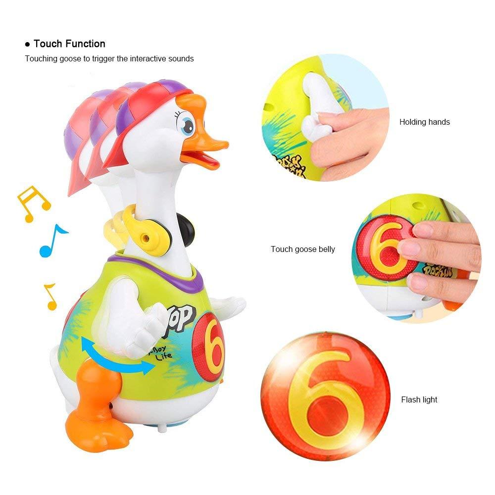 HOLA 828 Hip Hop danse marche balançoire oie Musical cadeau éducatif jouet pour 1 an tout-petits apprentissage jouets éducatifs cadeau - 3