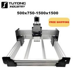 Workbee cnc máquina de roteador kit workbee cnc kit mecânico