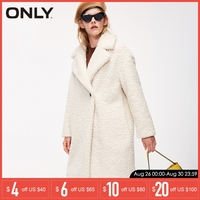 ONLY Autumn winter jacket women Faux Fur Coat Casual Overcoat | 118322512
