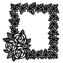 Eastshape рамки штампы кружево, цветок, Роза металлические штампы трафареты DIY скрапбук Декор тиснение ремесло высечки шаблон