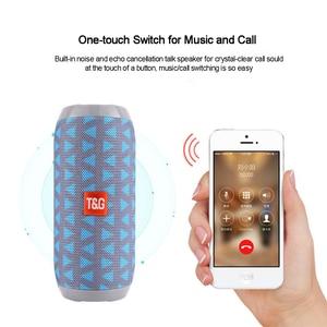 Image 3 - נייד רמקול אלחוטי Bluetooth רמקולים TG117 Soundbar חיצוני ספורט עמיד למים תמיכת TF כרטיס FM רדיו Aux קלט