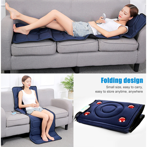 Image 4 - KLASVSA Electric Vibrator Massager Mattress Far Infrared Heating Therapy Neck Back Massage Relaxation Bed Vibrador Health Care