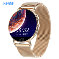 MEEJI Smart Watch Men Women 2019 Blood Pressure Blood Oxygen Heart Rate Monitor Sports Tracker Smartwatch IP67 for IOS Android