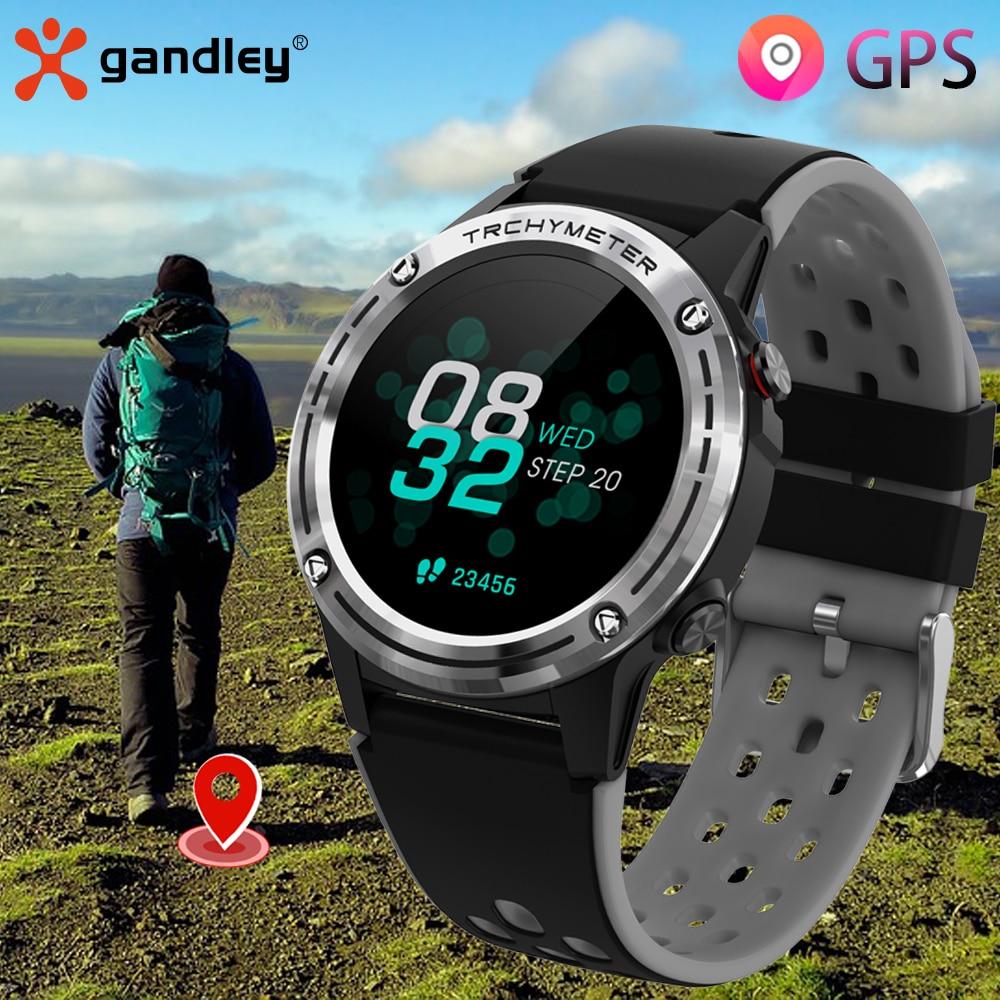 Gps relógio inteligente das mulheres dos homens 2021 gandley m6c esporte smartwatch atividade de fitness rastreador freqüência cardíaca relógio à prova dwaterproof água para android ios|Relógios inteligentes|   -