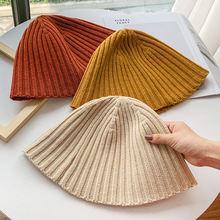 Шапка зимняя женская грубая шапка шапочка вязаная теплая мягкая