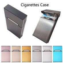 1Pcs New Ultra Thin Fashion Pipe Creative Personality Cigaret Case Slim Metal