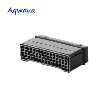 Aqwaua kran Aerator kwadratowy prostokąt rdzeń część wylewka Bubbler akcesoria filtracyjne do kranu łazienkowego filtr dźwig załącznik tanie i dobre opinie Aeratorów Square Full flow Z tworzywa sztucznego