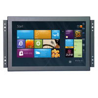 10.1 inch 1080p Metal Shell Embedded Open Frame Free Drive Multi point Capacitive Touch Monitor LCD Screen Display