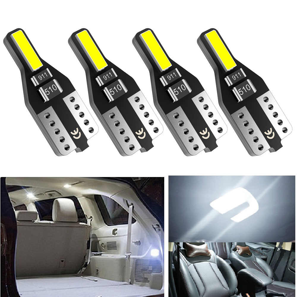 4x W5W T10 LED ampoule voiture lumière intérieure pour Ford Focus 2 3 MK2 Fiesta Toyota Corolla Avensis Rav4 Opel Astra H G J Insignia Mokka