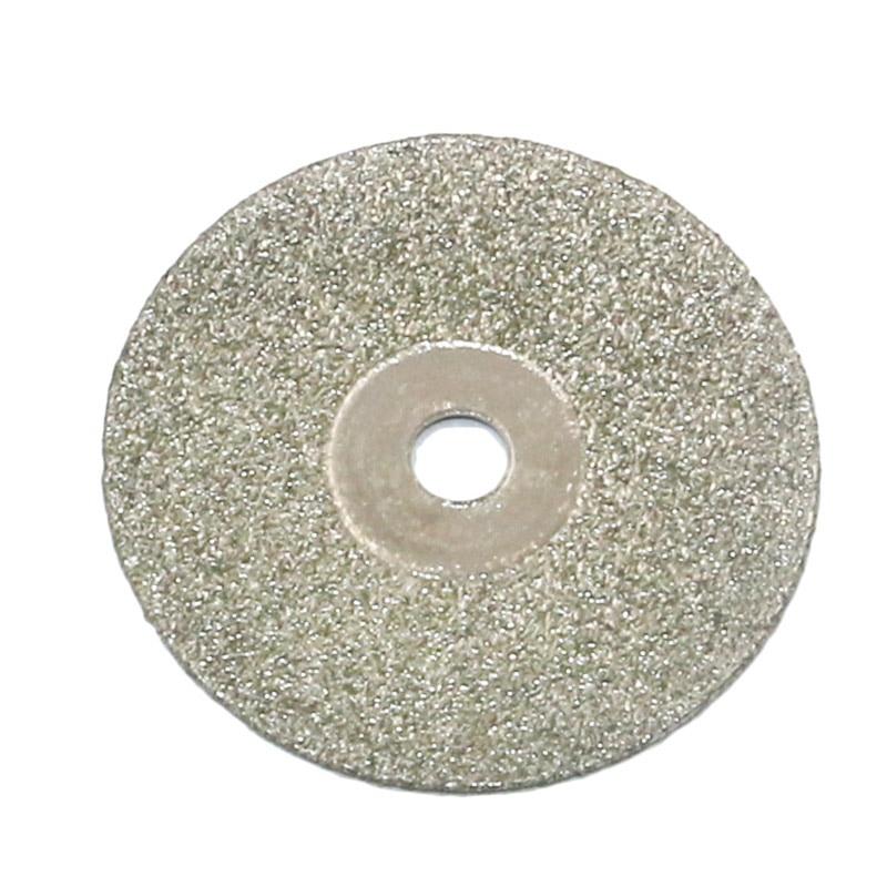 10 Pcs/ Set 35mm Diamond Coated Rotary Cutting Cut Off Blade Wheel Kit With 2pcs Shank Mandrels JS22