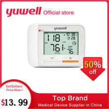 Yuwell 8900A/8300B/8600A Wrist Blood Pressure Monitor Medical Health Equipment LCD Digital Automatic Blood Pressure Measurement