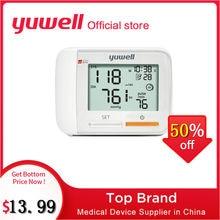 Yuwell 8900A/8300B/8600A Wrist Blood Pressure Monitor Medical Health Equipment LCD Digital Automatic Blood Pressure Measurement
