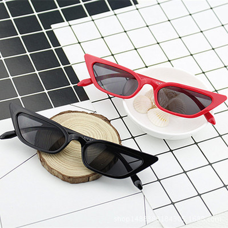 2019 Fashion Men Women Vintage Cat Eye Sunglasses Retro Small Frame UV400 Eyewear Fashion For Driver Luxury Brand Designer