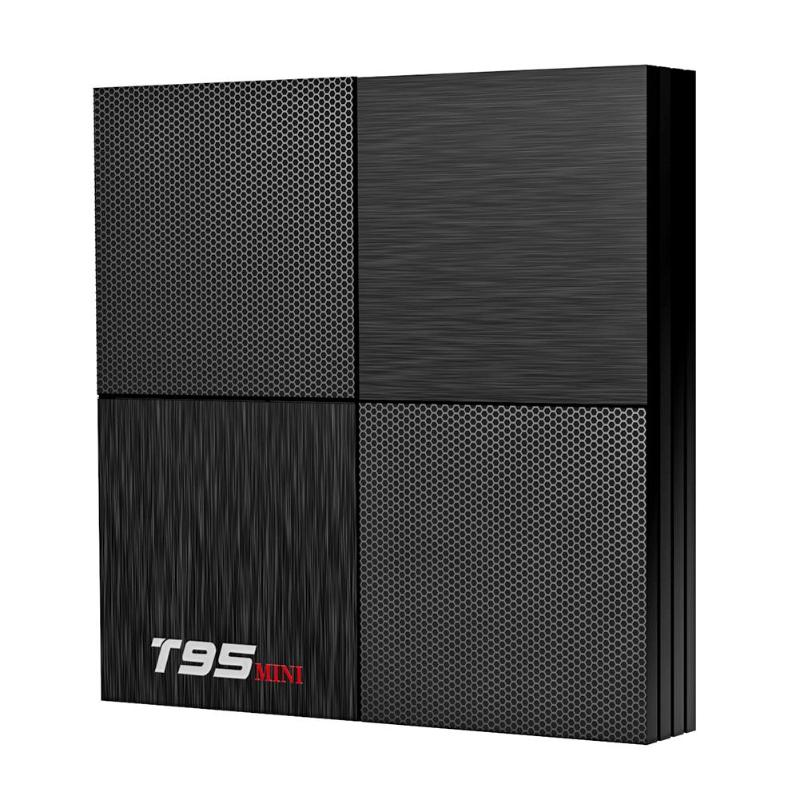 T95 Mini Smart TV Box 2G+16G Android 9.0 6K H6 WiFi Quad Core 3D Media Play Set Top Box