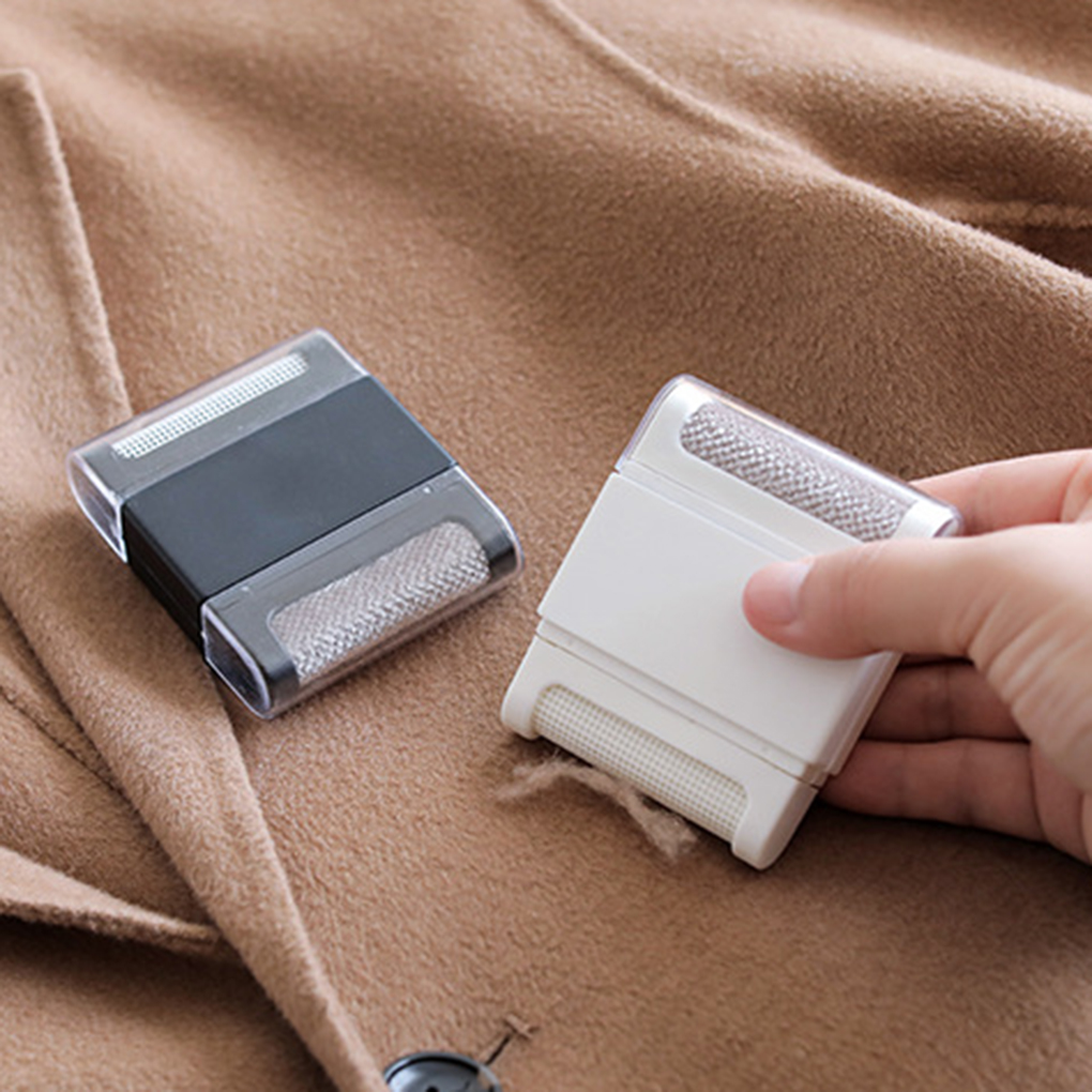 Sweater Clothes Hair Ball Trimmer Manual Fuzz Pellet Lint Remover Shaver Epilator Single/Double Tip