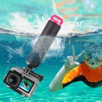 1 סט עמיד למים מקרה פגז ציפה מוט צלילה מכשיר לdji אוסמו פעולה מצלמה אביזרי 746D|מארזים למצלמות וידאו לספורט|   -