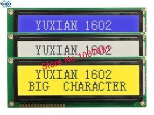 Image 1 - 2 Giá Chiếc Lớn Lớn Kích Thước 1602 Màn Hình LCD Hiển Thị STN Xanh Dương Xanh Trắng Và Đen Chữ SPLC780D1 WH1602L LCM1602B